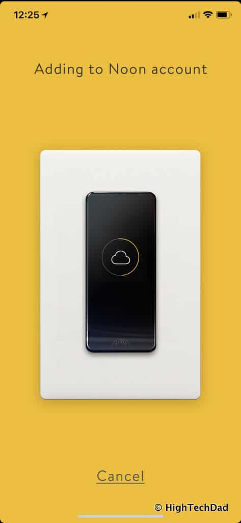 Noon Home Intelligent Switches - add Noon account