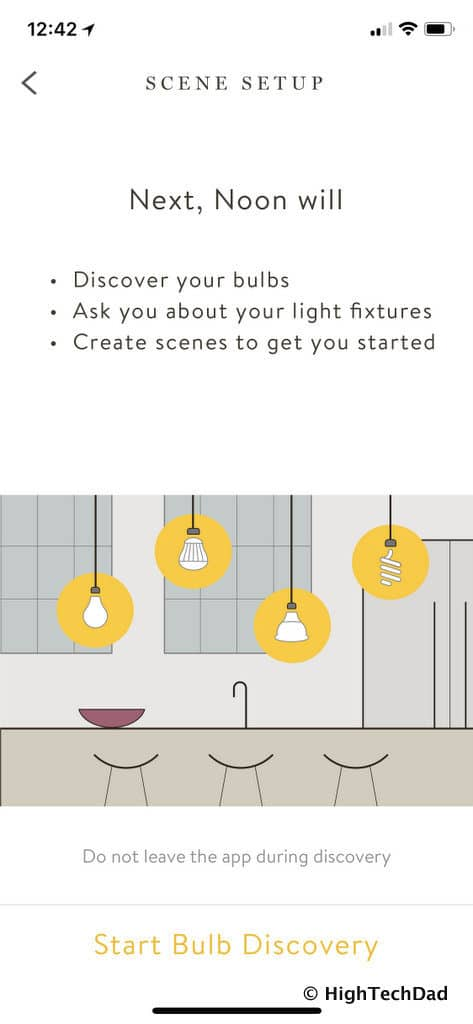 Noon Home Intelligent Switches - discovery process