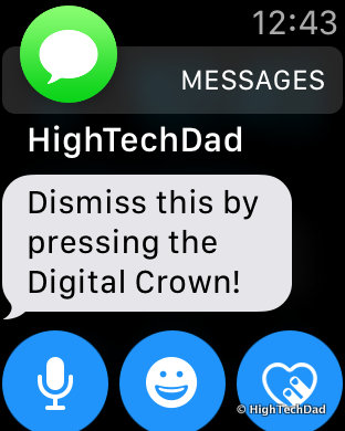 Apple Watch Tips & Tricks - dismiss notifications