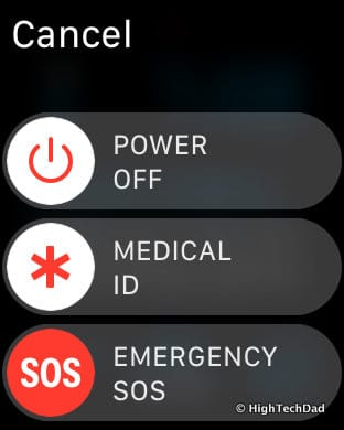 Apple Watch Tips & Tricks - power off