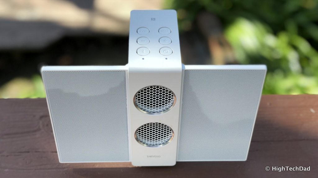 HTD BenQ treVolo S speaker review - open from above
