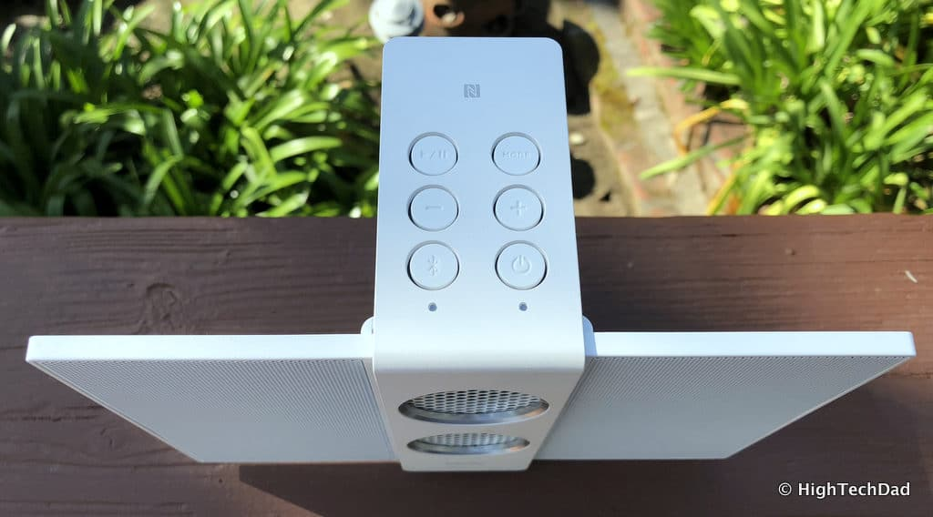 HTD BenQ treVolo S speaker review - buttons