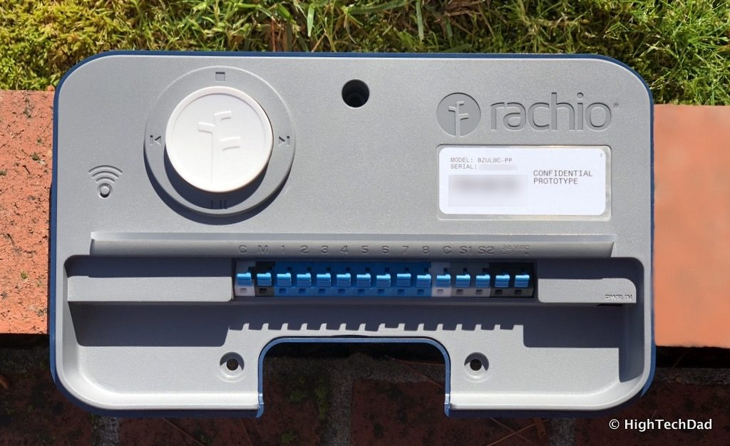 HTD Rachio Gen3 Review - cover off view