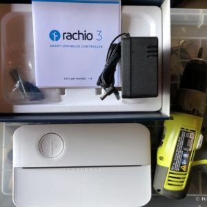 HTD Rachio Gen3 Review - in the box