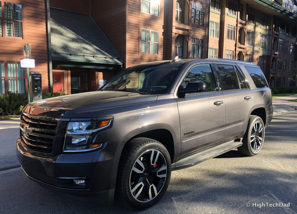 2018 Chevy Tahoe - at the resort