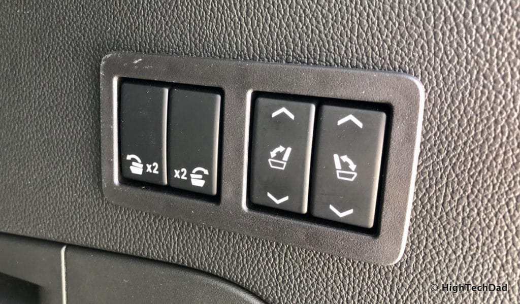 2018 Chevy Tahoe - seat buttons