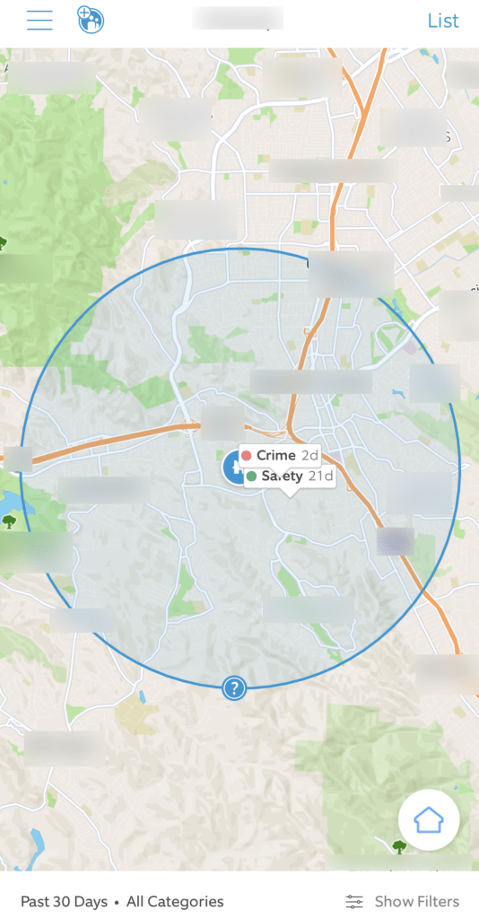 HTD Ring Neighbors - activity map