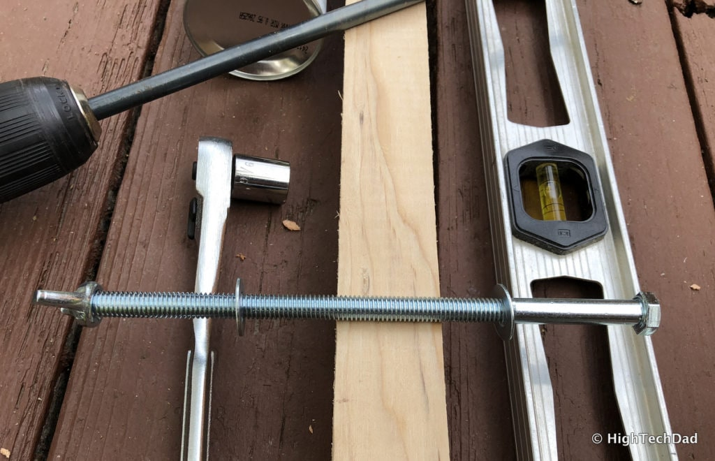 HTD DIY Deck Lighting Post - materials & tools