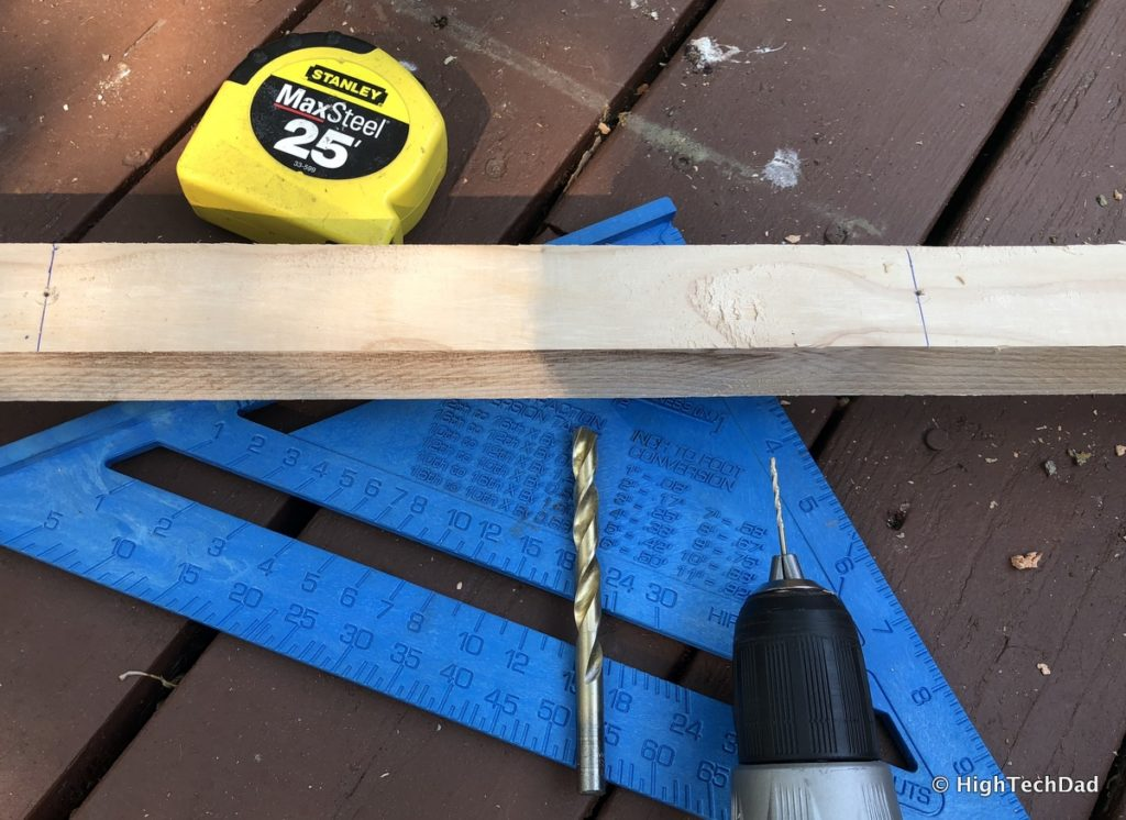HTD DIY Deck Lighting Post - other tools