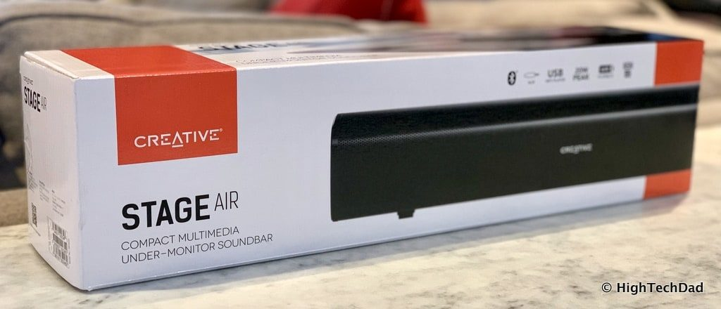 HighTechDad Creative Stage Air review - in the box
