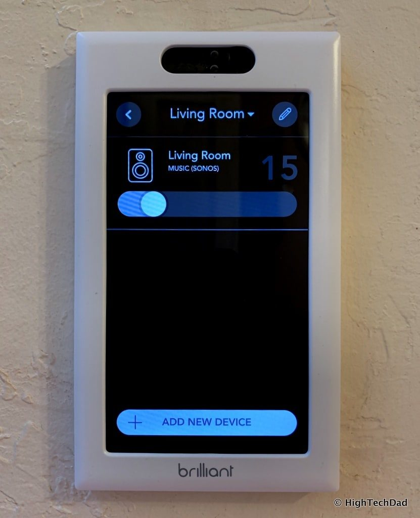 HighTechDad Brilliant Smart Switch Review - sonos