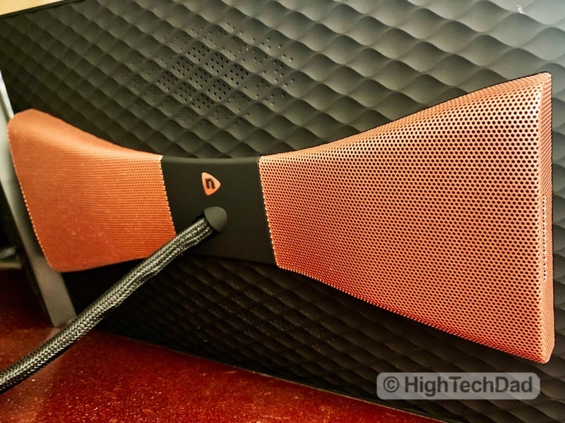 HighTechDad Nixplay Seed Wave review - bluetooth speakers