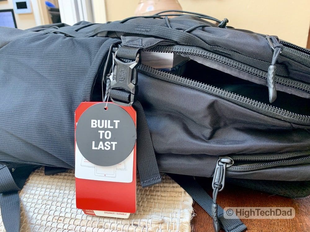 HighTechDad Backpacks.com The North Face Borealis backpack review - built to last