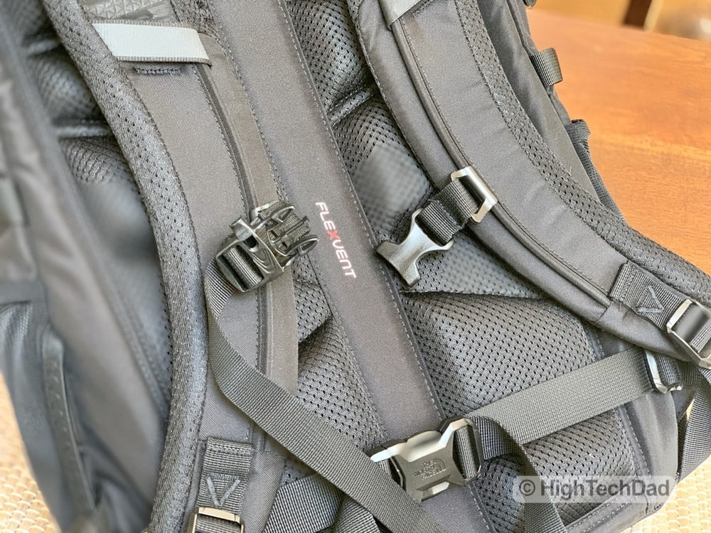 HighTechDad Backpacks.com The North Face Borealis backpack review - FlexVent