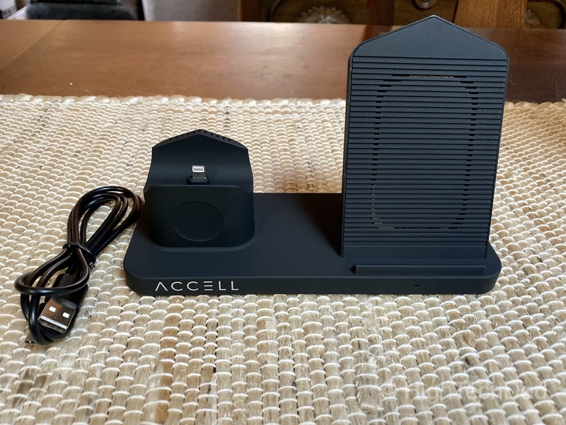 HighTechDad Review of Accell Power 3-in-1 Fast Wireless Charger