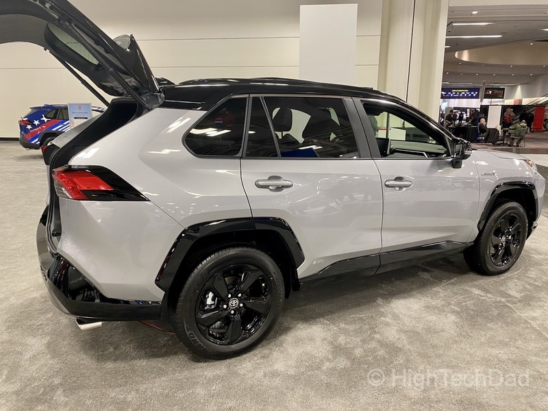 HighTechDad, Toyota Season of Giving & the 2019 Toyota Sequoia - new RAV4 Hybrid