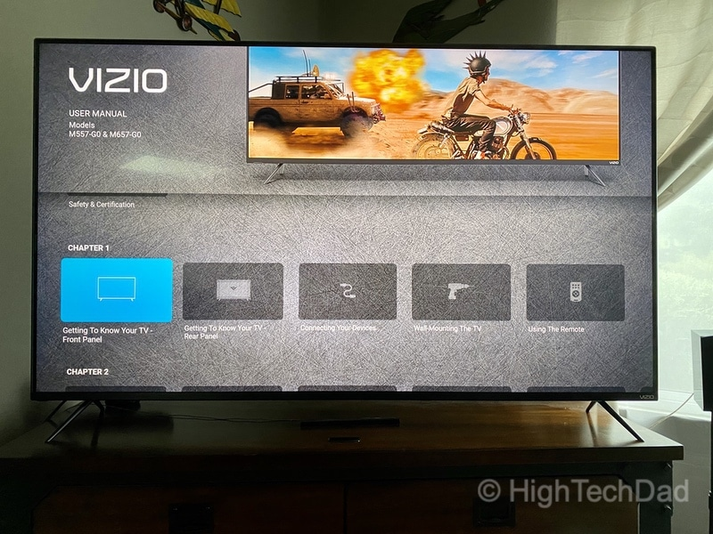 HighTechDad Review: VIZIO M-Series 4K TV - online manual