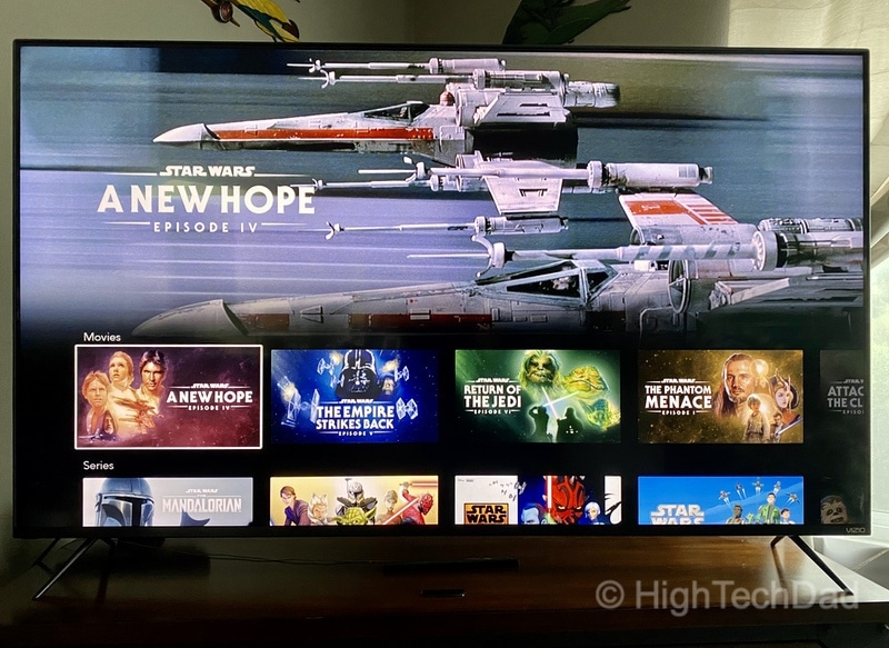 HighTechDad Review: VIZIO M-Series 4K TV - smart display