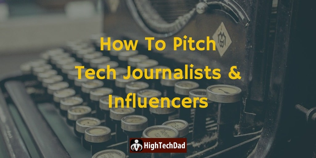 HTD How To Pitch - HighTechDad™