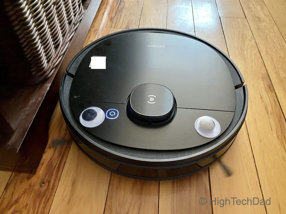 HighTechDad Ecovacs Deebot robot vacuum review 1 - HighTechDad™