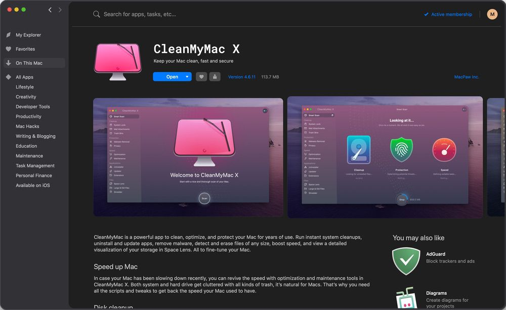 HighTechDad - Setapp CleanMyMac X helps fine-tune your Mac