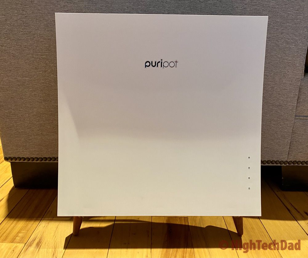 Look! No filter required! Review: Puripot airFrame F1+ Air Purifier