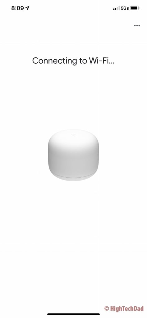 Connecting to Wifi - Google Home & Nest Wifi