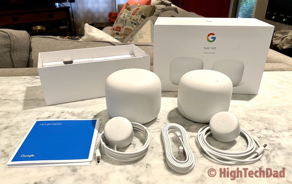 In the Nest Wifi box - HighTechDad review