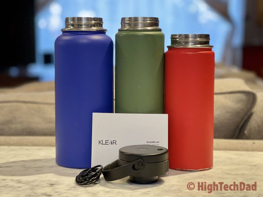 How To Get Rid of that Stinky Water Bottle Smell – Klear Cap Review