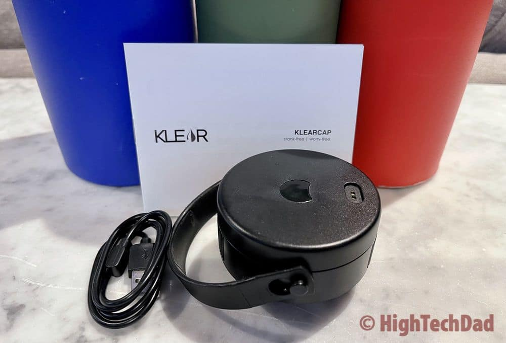 Klear Cap review - fits wide-mouth reusable water bottles - HighTechDad