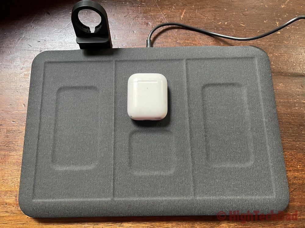 Charge AirPods wirelessly - HighTechDad review