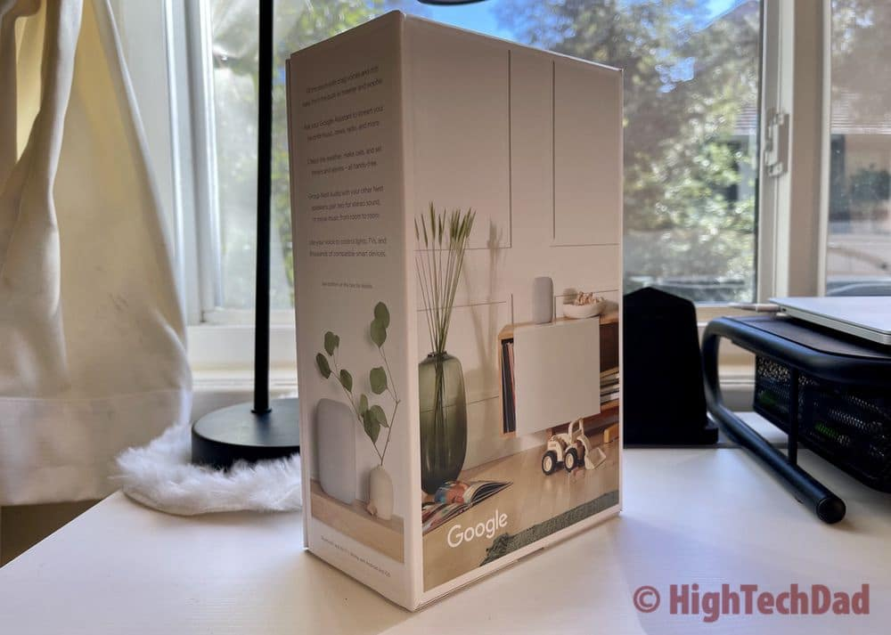 Boxed Nest Audio smart speaker - HighTechDad Review