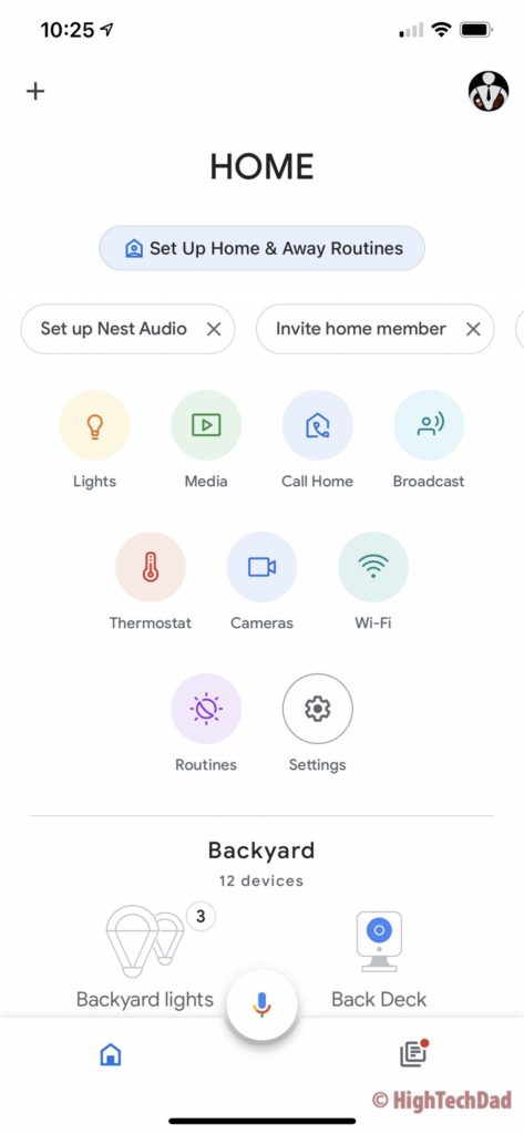 Setting up Nest Audio - Google Home App - HighTechDad