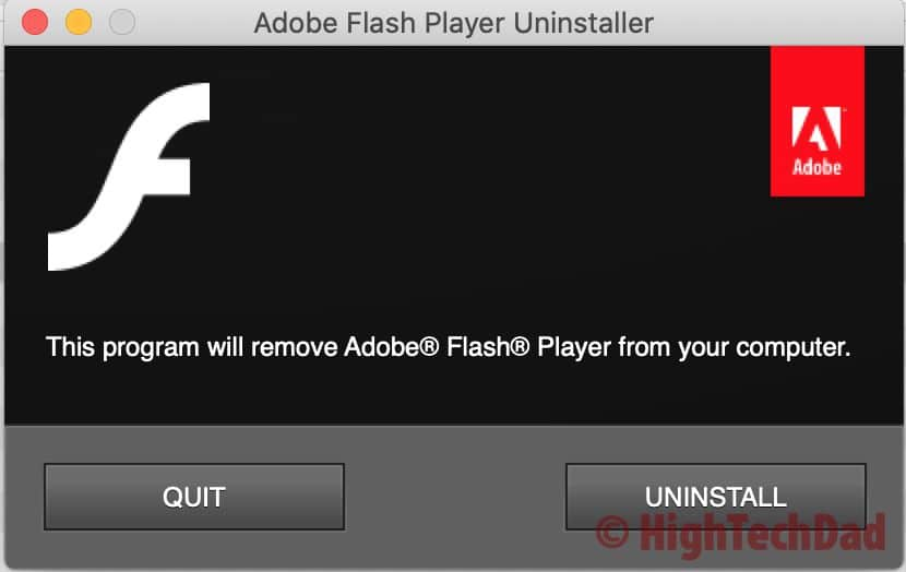 HighTechDad How to Uninstall Adobe Flash Player Mac 5 - HighTechDad™