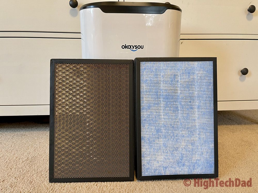 Okaysou AirMax8L air purifier review by HighTechDad