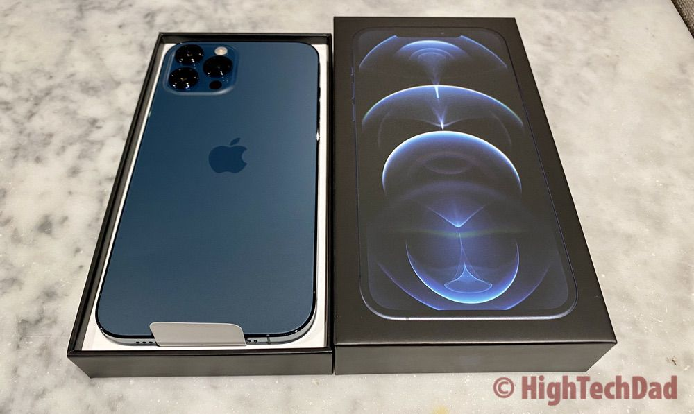 iPhone 12 Pro Max in the box - HighTechDad review