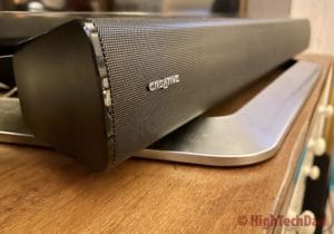 Creative Stage V2 soundbar - HighTechDad review
