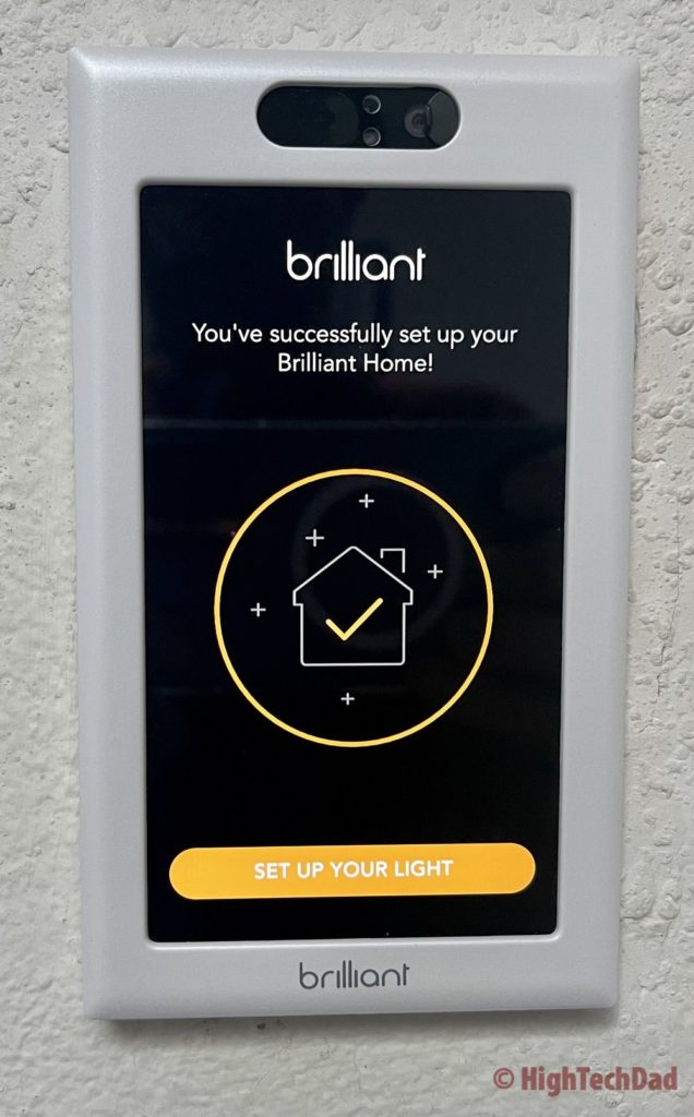 Connected to existing Brilliant Home - Brilliant Smart Home Control - HighTechDad review