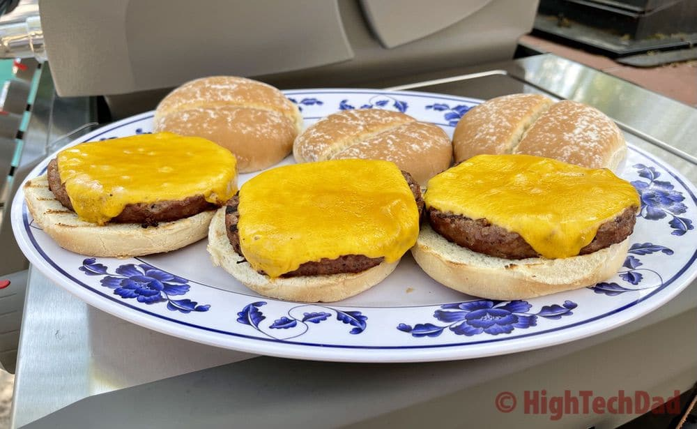 Full-sized burgers - Impossible Burgers & Impossible Foods - HighTechDad