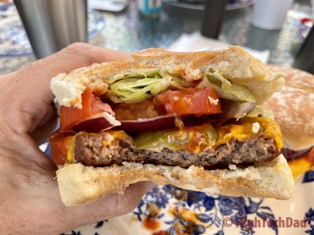 A big bite - Impossible Burgers & Impossible Foods - HighTechDad