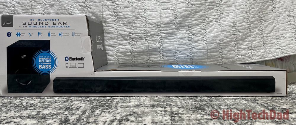 In the box - iLive HD Sound Bar - HighTechDad review
