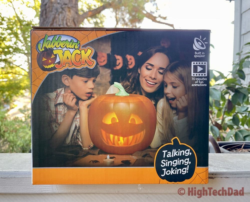 Boxed up - Jabberin Jack pumpkin - HighTechDad review